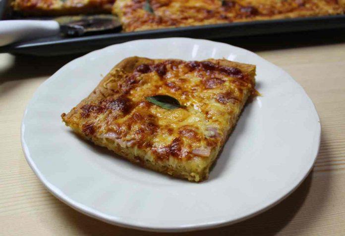 Βασική συνταγή ζύμης πίτσας 10 mamameli