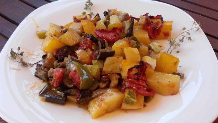 Λαχανικά στο φούρνομπριάμ 7 mamameli