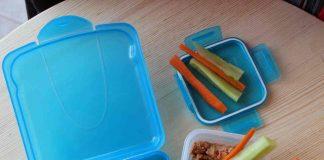 Μπαστουνάκια λαχανικών με κόκκινο χούμους 4 mamameli