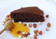 κέικ αμυγδάλου με μέλι και κακάο 17 mamameli