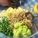 Σαλάτα ζυμαρικών με αρωματικές φακές 6, mamameli