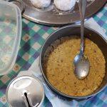 Τσιζκέικ με ανθότυρο και κουραμπιέδες 2 mamameli