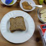 Croque μπανάνα με φυστικοβούτυρο χωρίς γλουτένη 4, Mamameligr