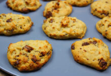 Νηστίσιμα μπισκότα με ρεβύθια και ταχίνι 9, mamameli