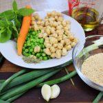 ρεβυθοκεφτέδες φούρνου με λαχανικά χωρίς γλουτένη, mamameli 1
